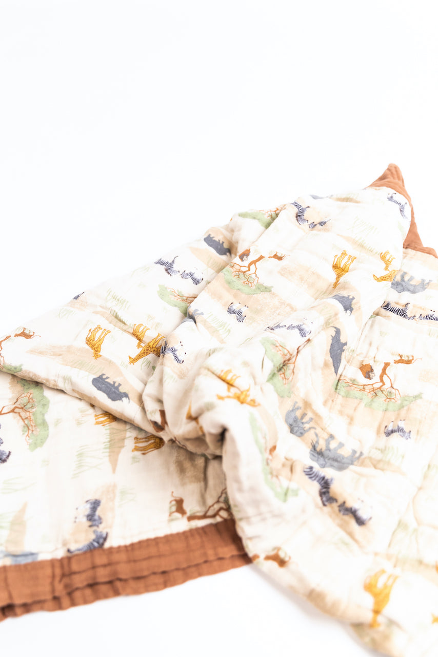 Soft Muslin Baby Blankets | ROOLEE