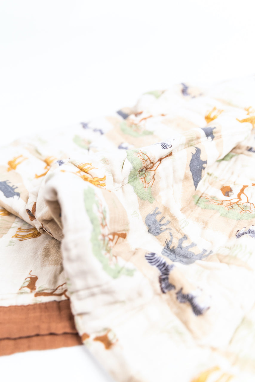Warm Neutral Kids and Baby Blankets | ROOLEE