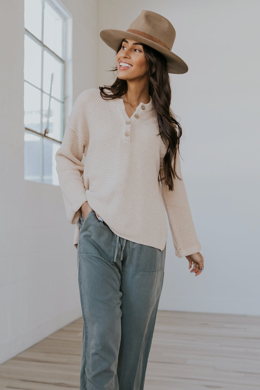 The Essential Textured Blouse