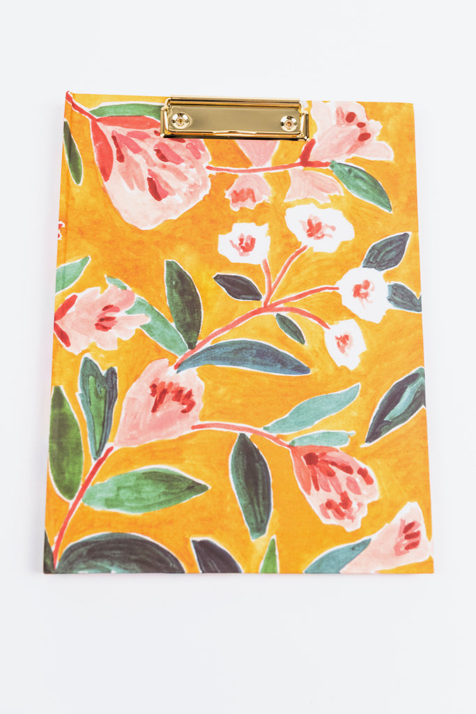 Floral Clipfolio Notebook | ROOLEE