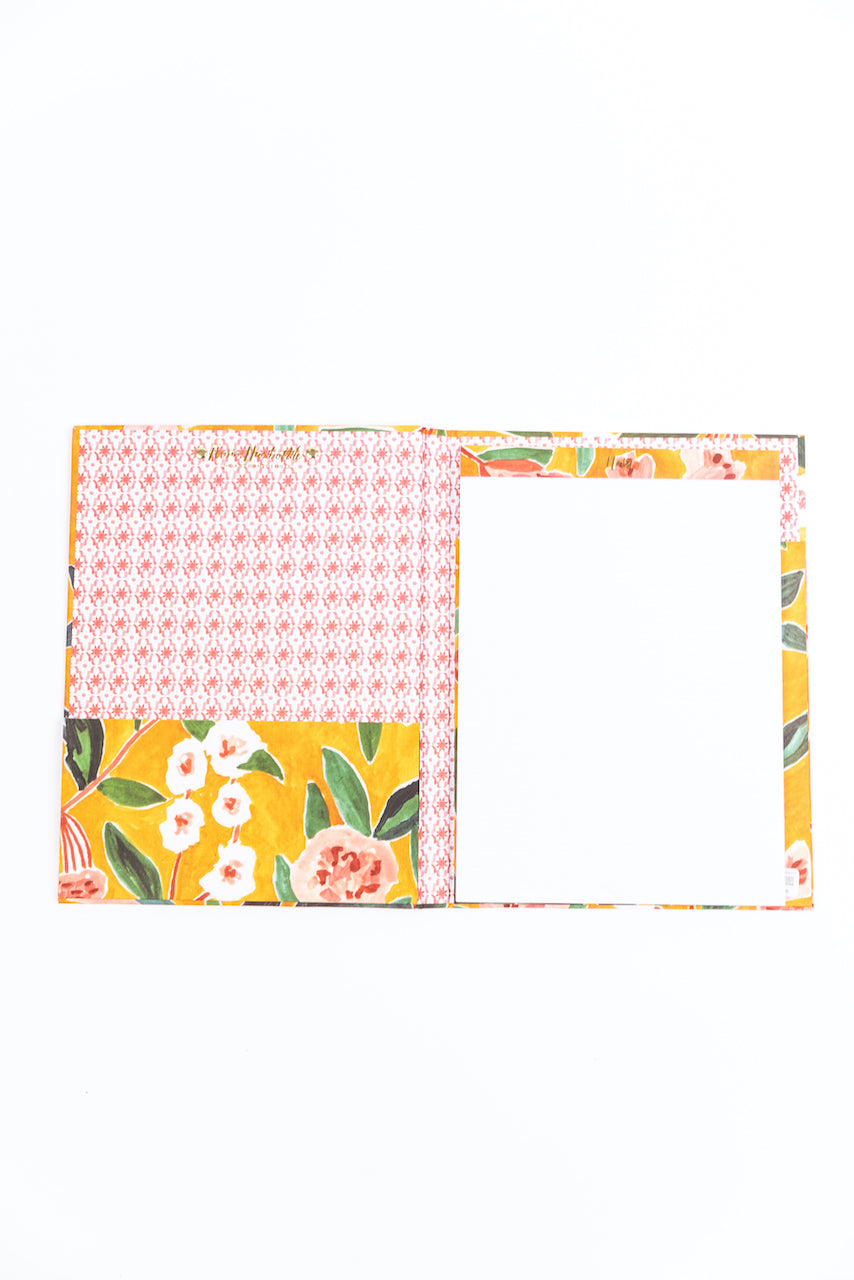 Floral Pattern Note Book | ROOLEE
