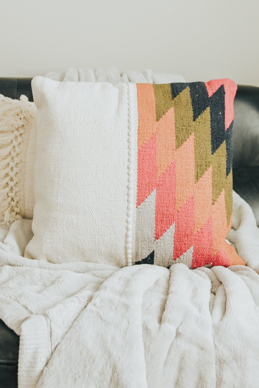Brightly Colored Throw Pillows | ROOLEE