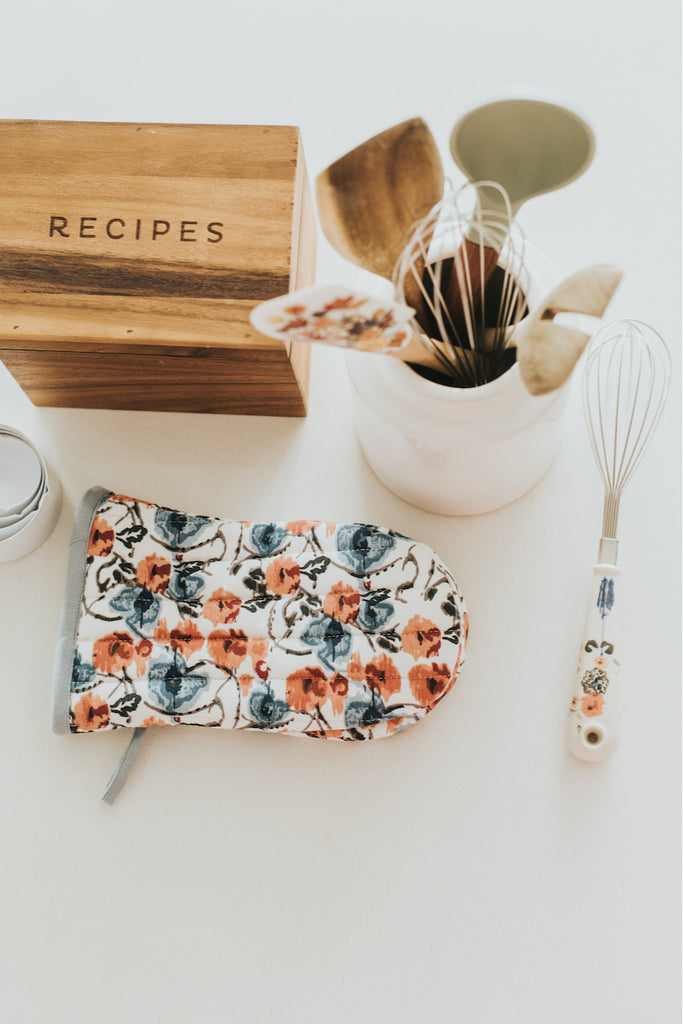 Anthropologie Daily Bakeware Floral Whisk