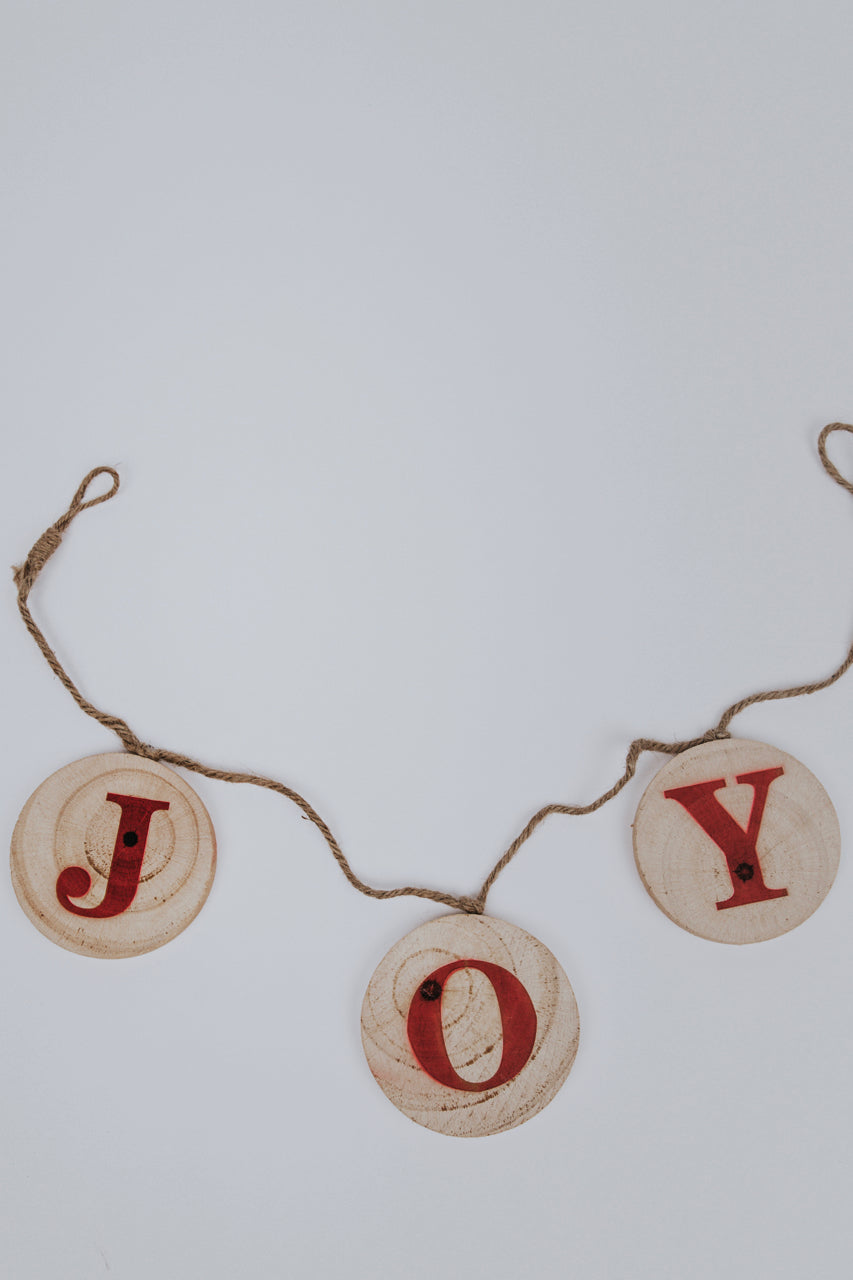 Wooden Holiday Christmas Banner | ROOLEE Home