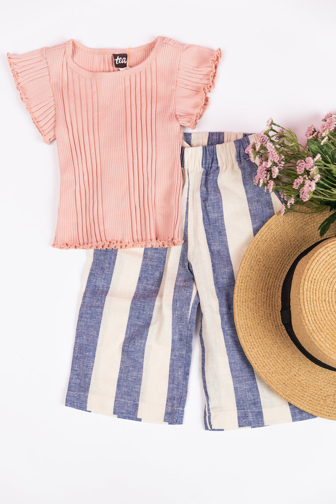 Pink spring outfits for girls | ROOLEE