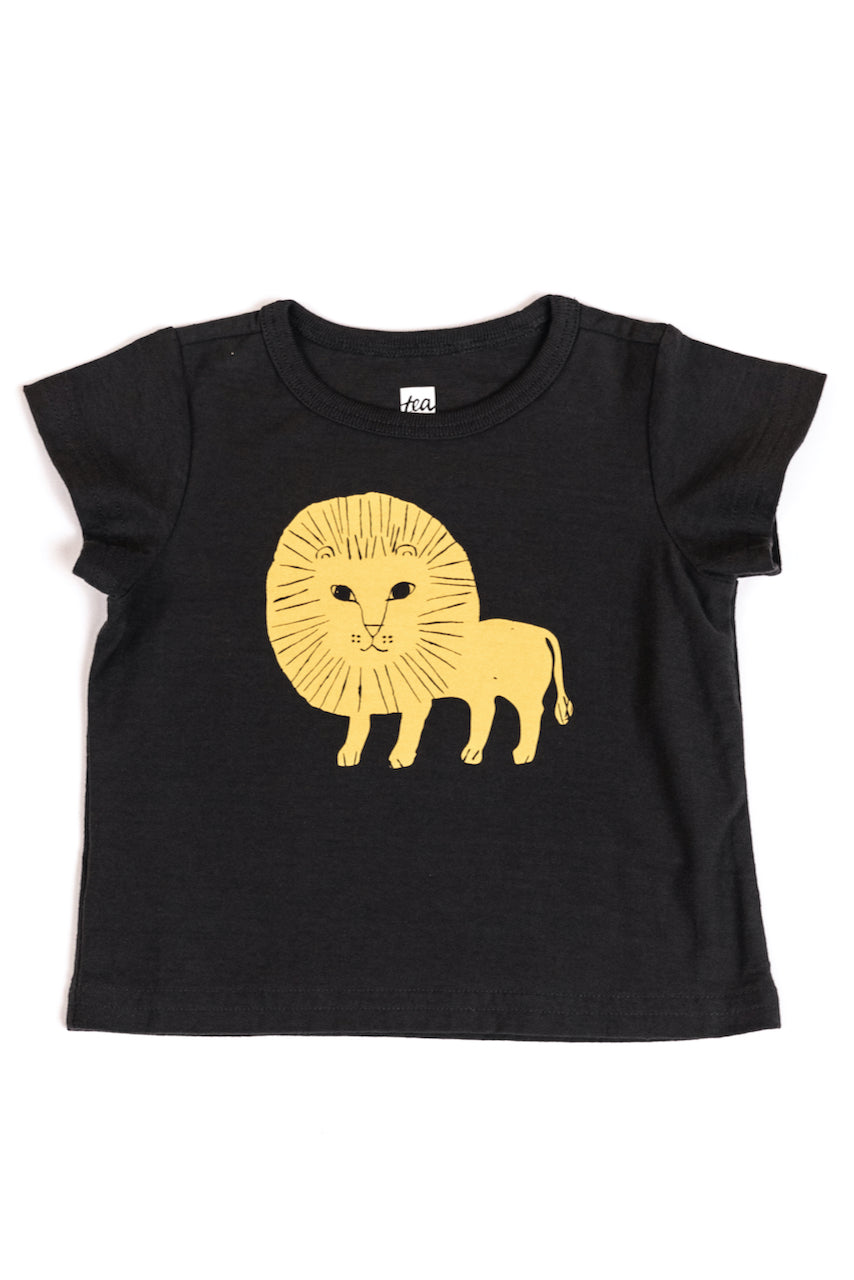 Kid's Lion Graphic Tee | ROOLEE