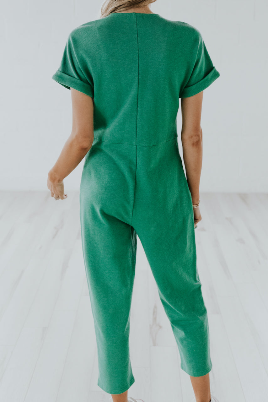 Norfolk Button Jumpsuit