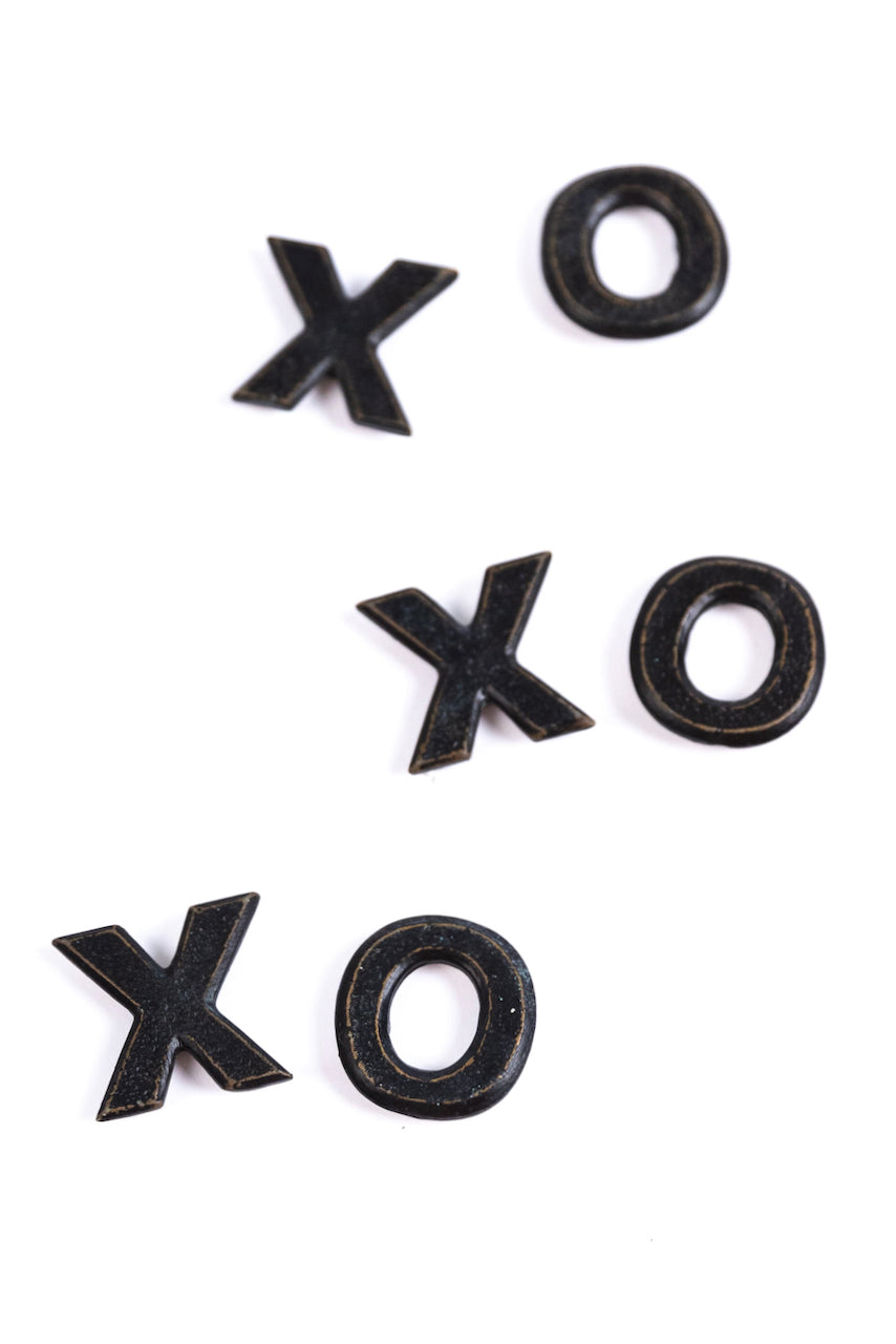 XOXO, Pewter Magnets