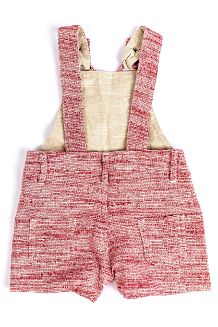 Red Kids Overalls| ROOLEE
