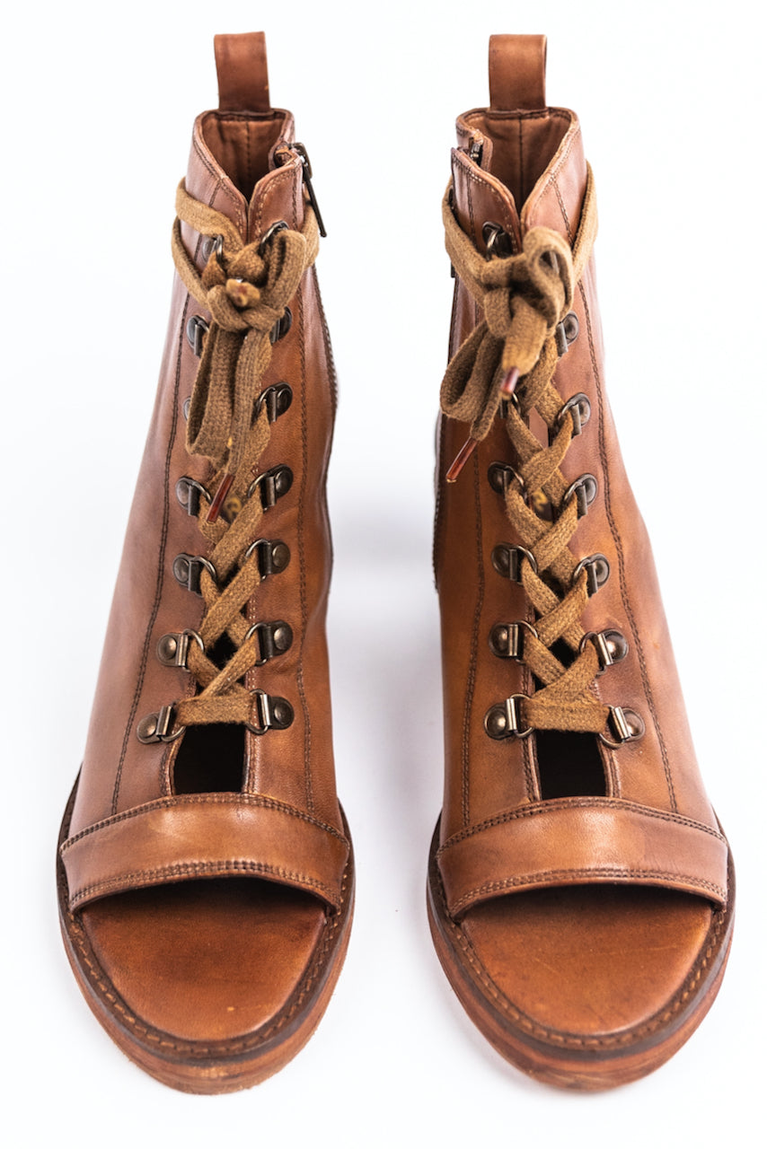 Lace Up Booties | ROOLEE