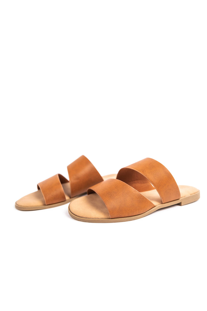 Cute Faux Leather Sandals | ROOLEE