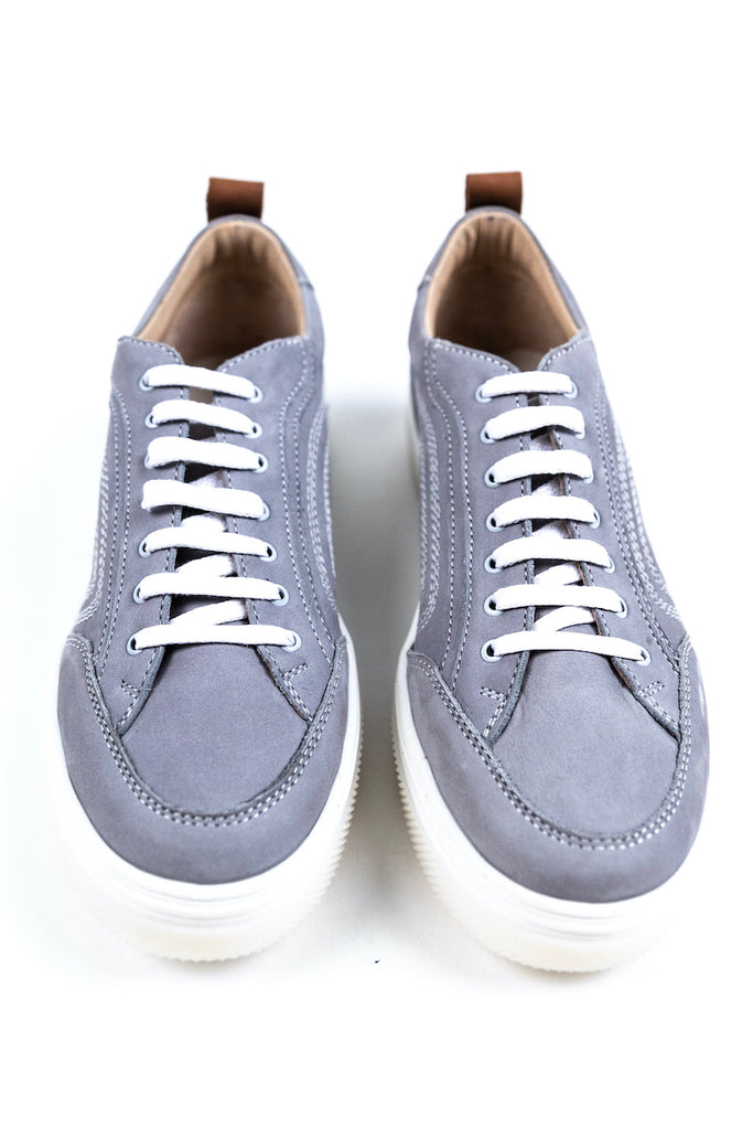 Grey chunky tennis shoes | ROOLEE