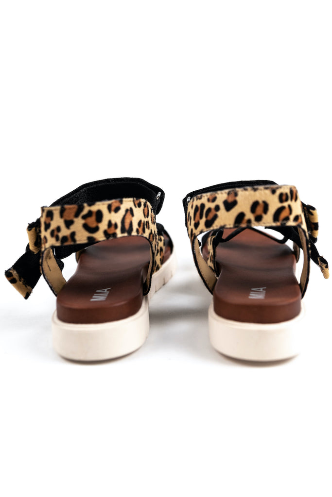 Leopard Strap Womens Sandals | ROOLEE