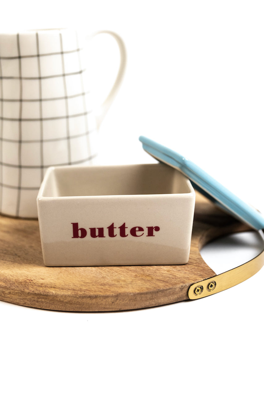 white and blue classic butter box | ROOLEE