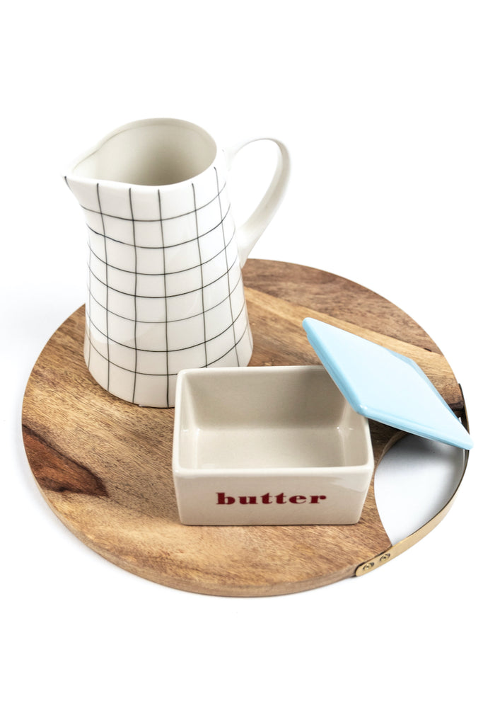 Cute ceramic butter dish | ROOLEE