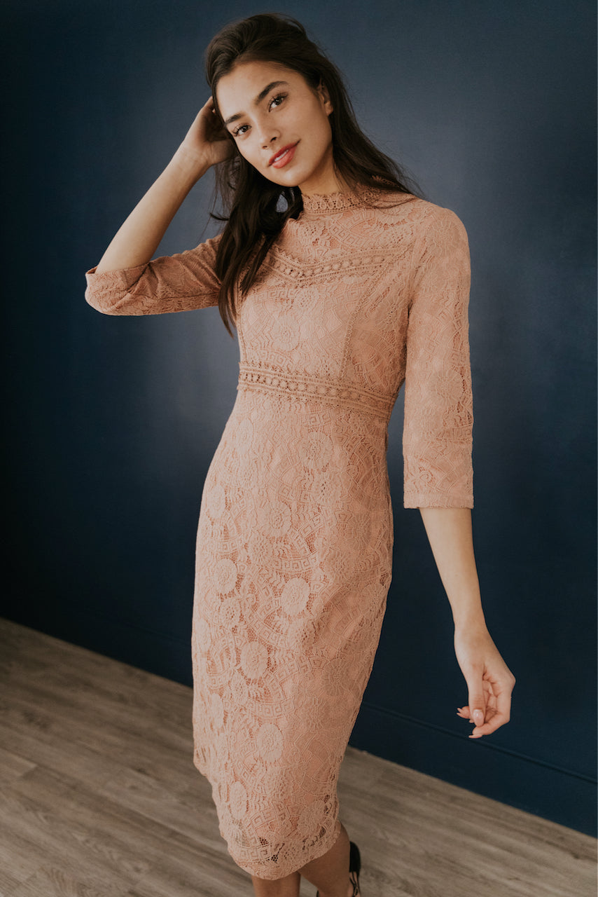 Walk Towards Love Lace Dress