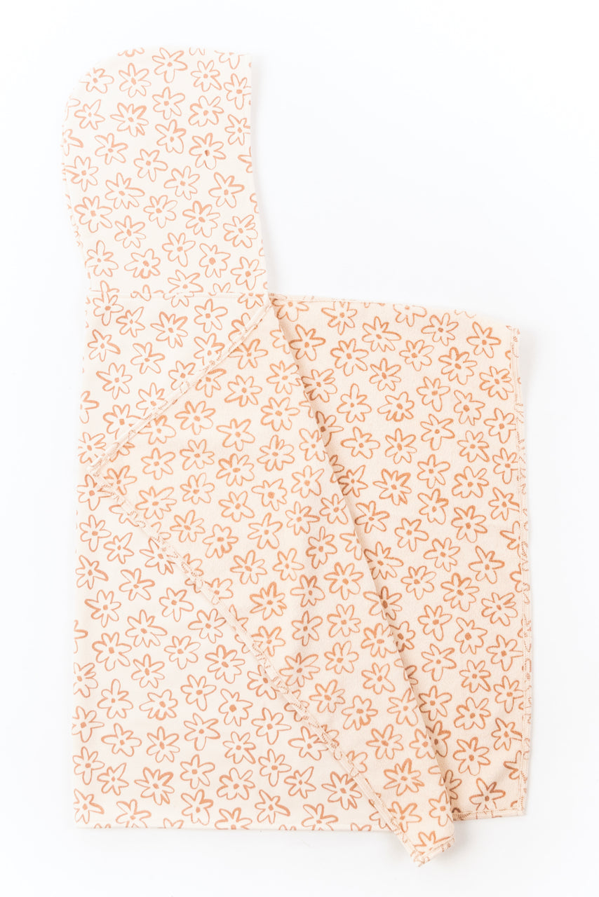 Flower Hooded Towel | ROOLEE