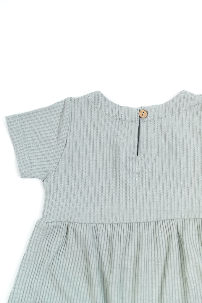 Marissa Ribbed Cotton Dress