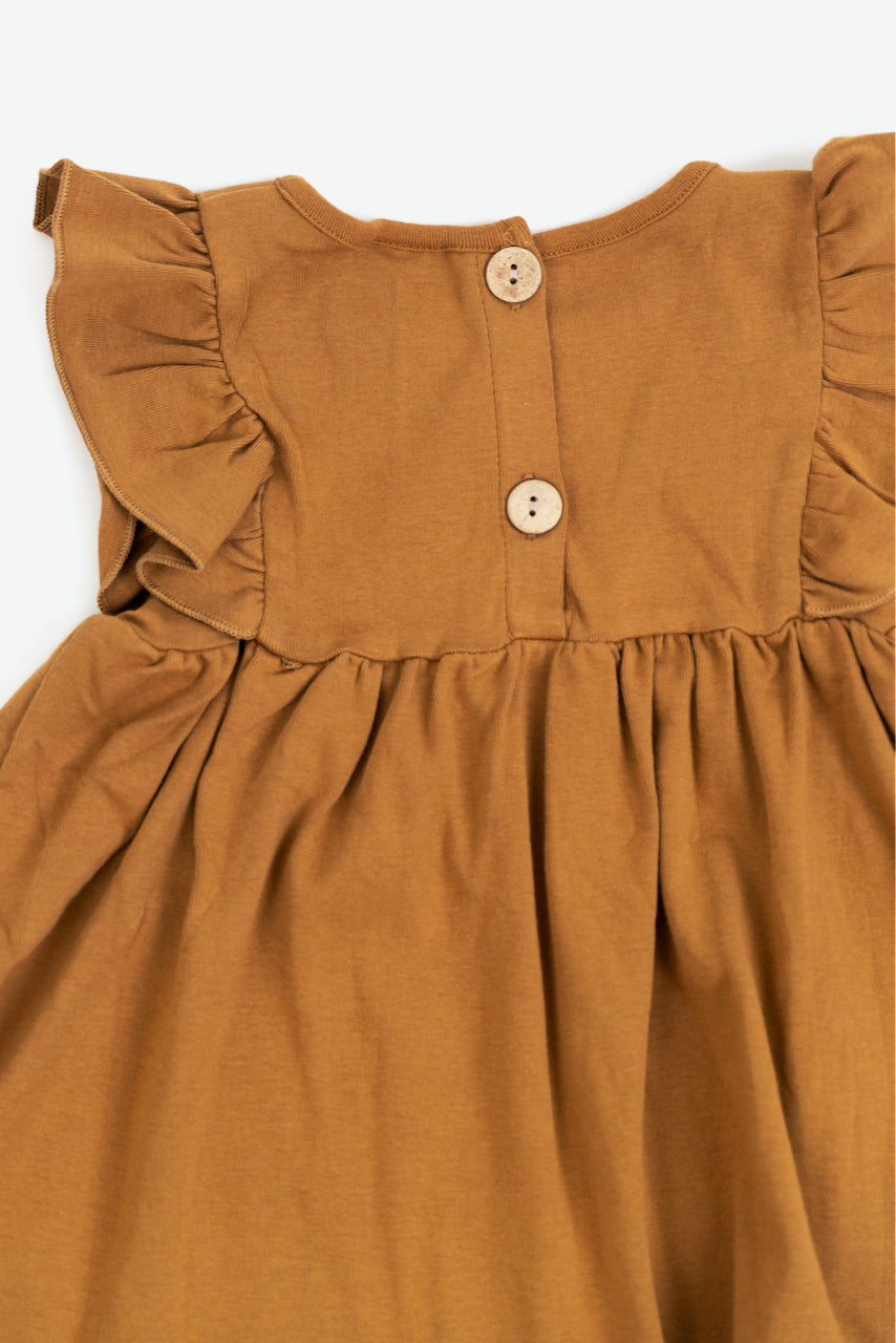 Allison Cotton Ruffle Dress
