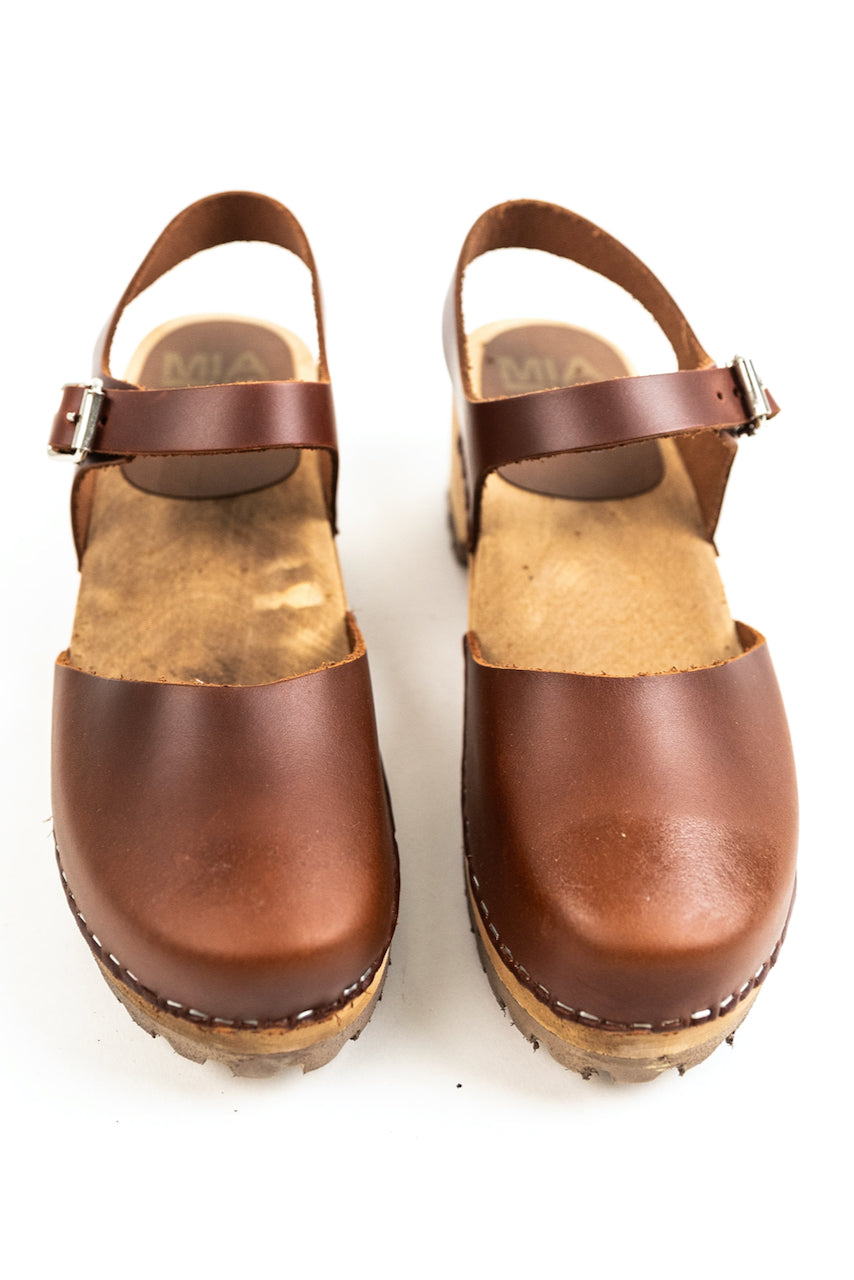 MIA Freja Leather Clogs