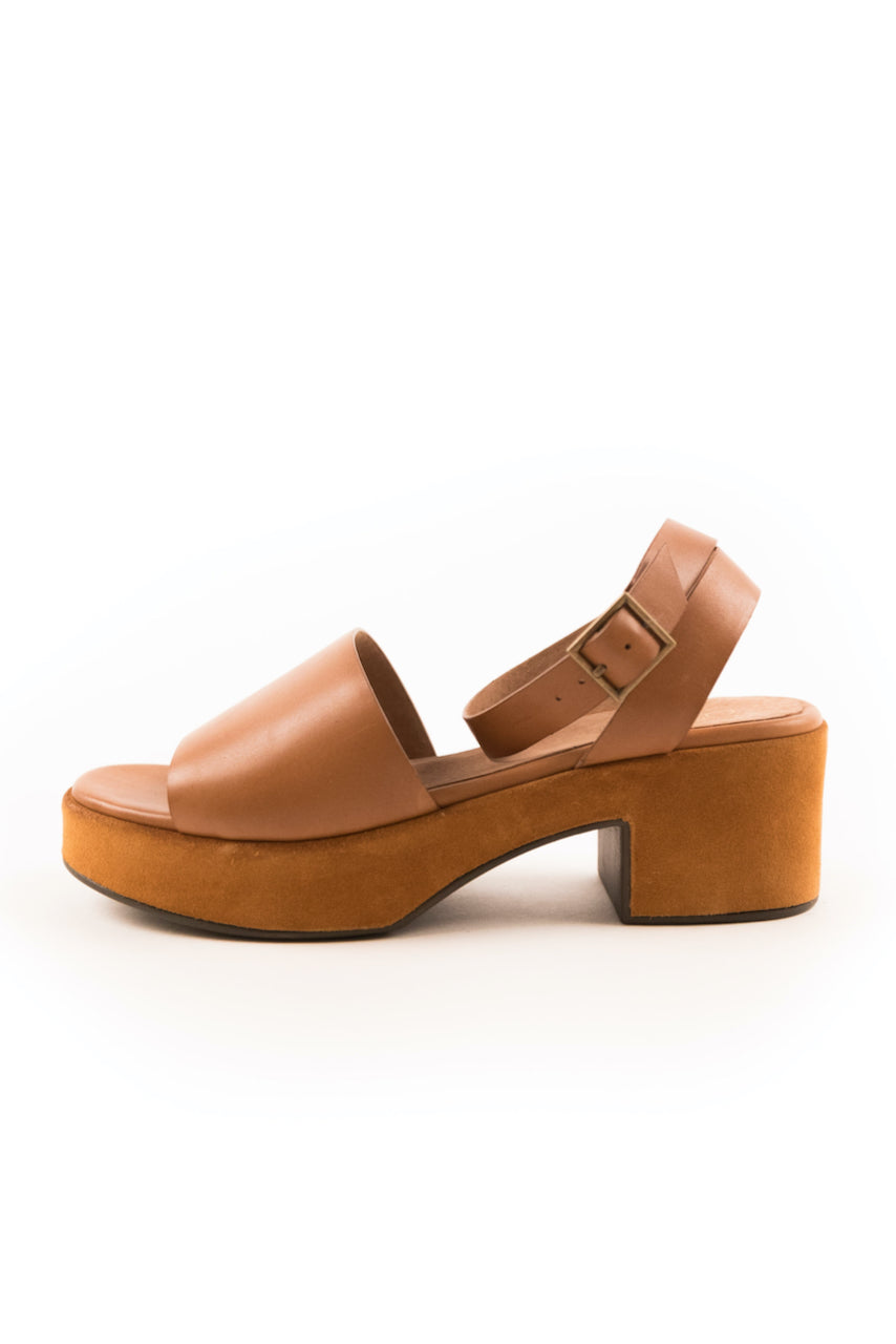 Brown Leather Sandals | ROOLEE