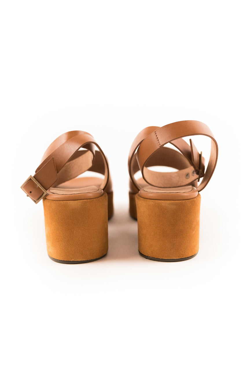 Leather Spring Sandals for Women | ROOLEE