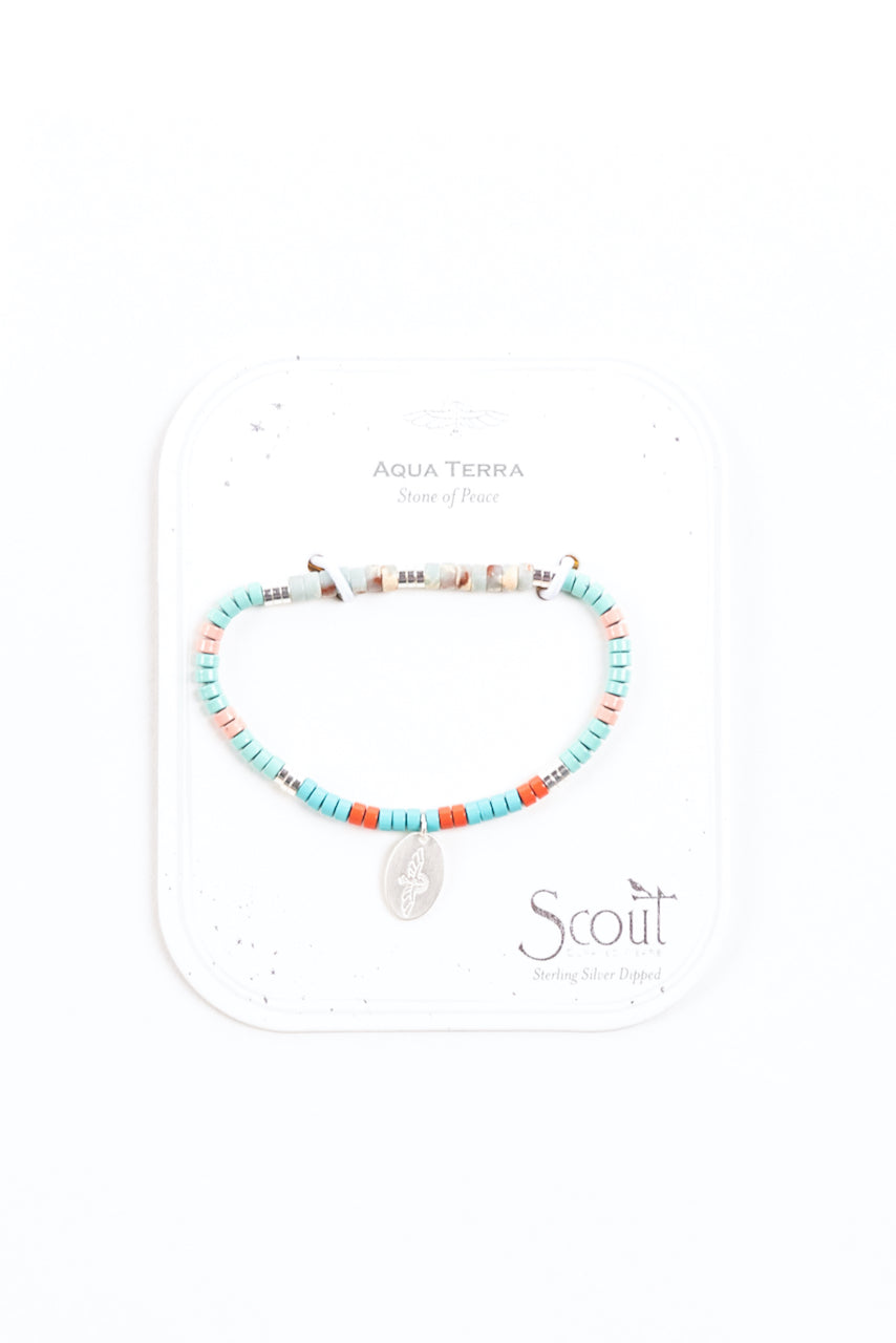 Stone of Peace Intention Charm Bracelet