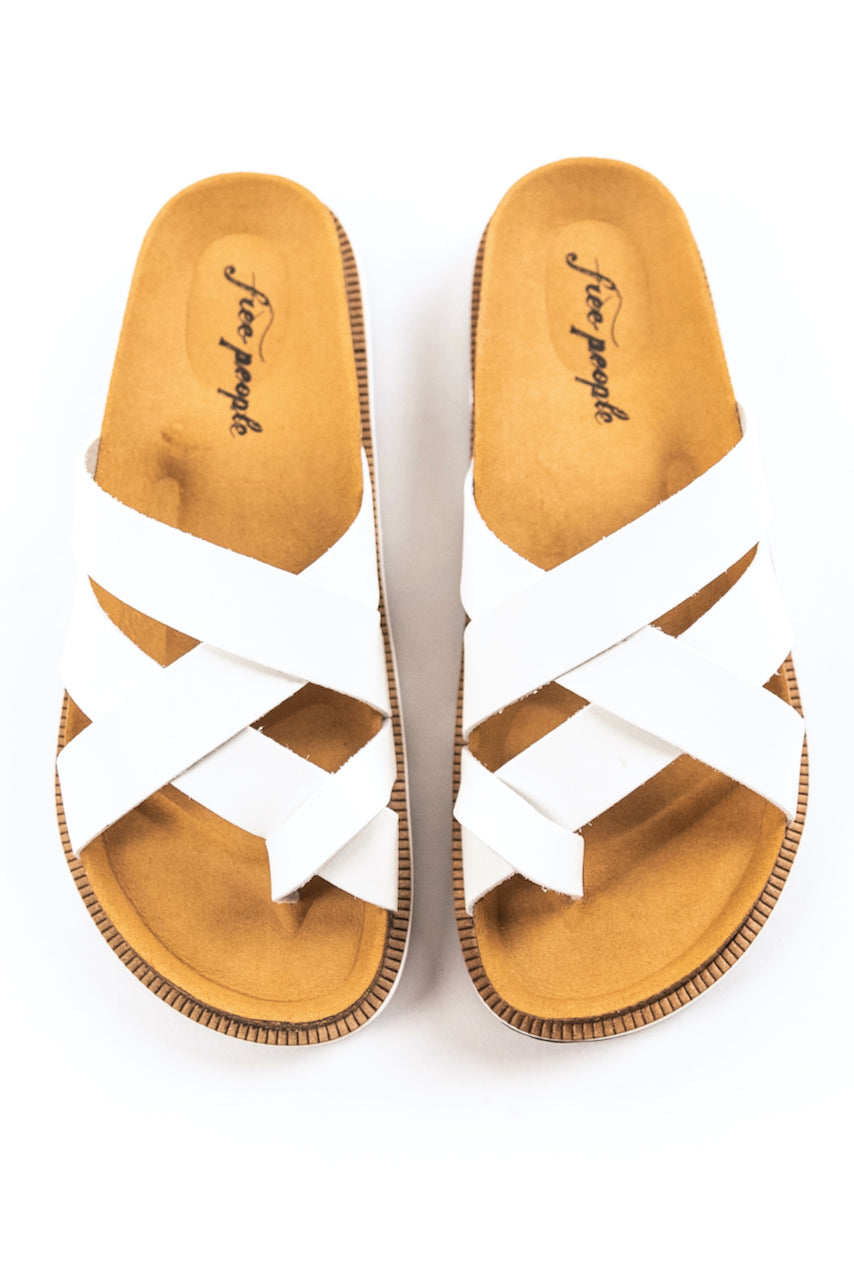 White Sandals | ROOLEE