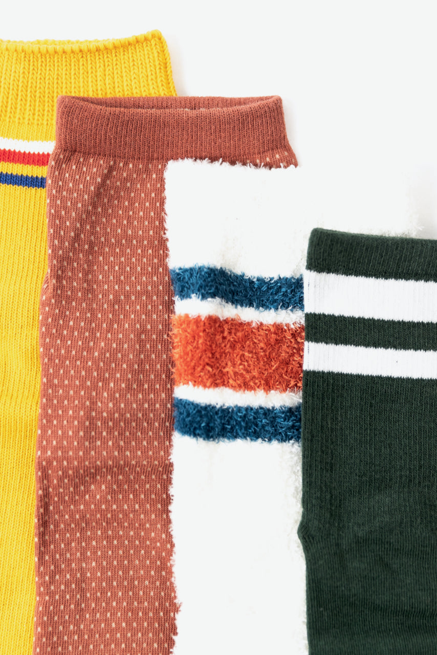 Retro ankle socks for fall | ROOLEE