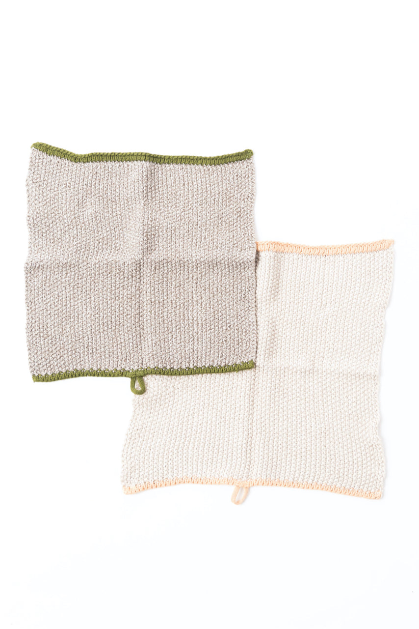Pack of two neutral dish cloths | ROOLEE