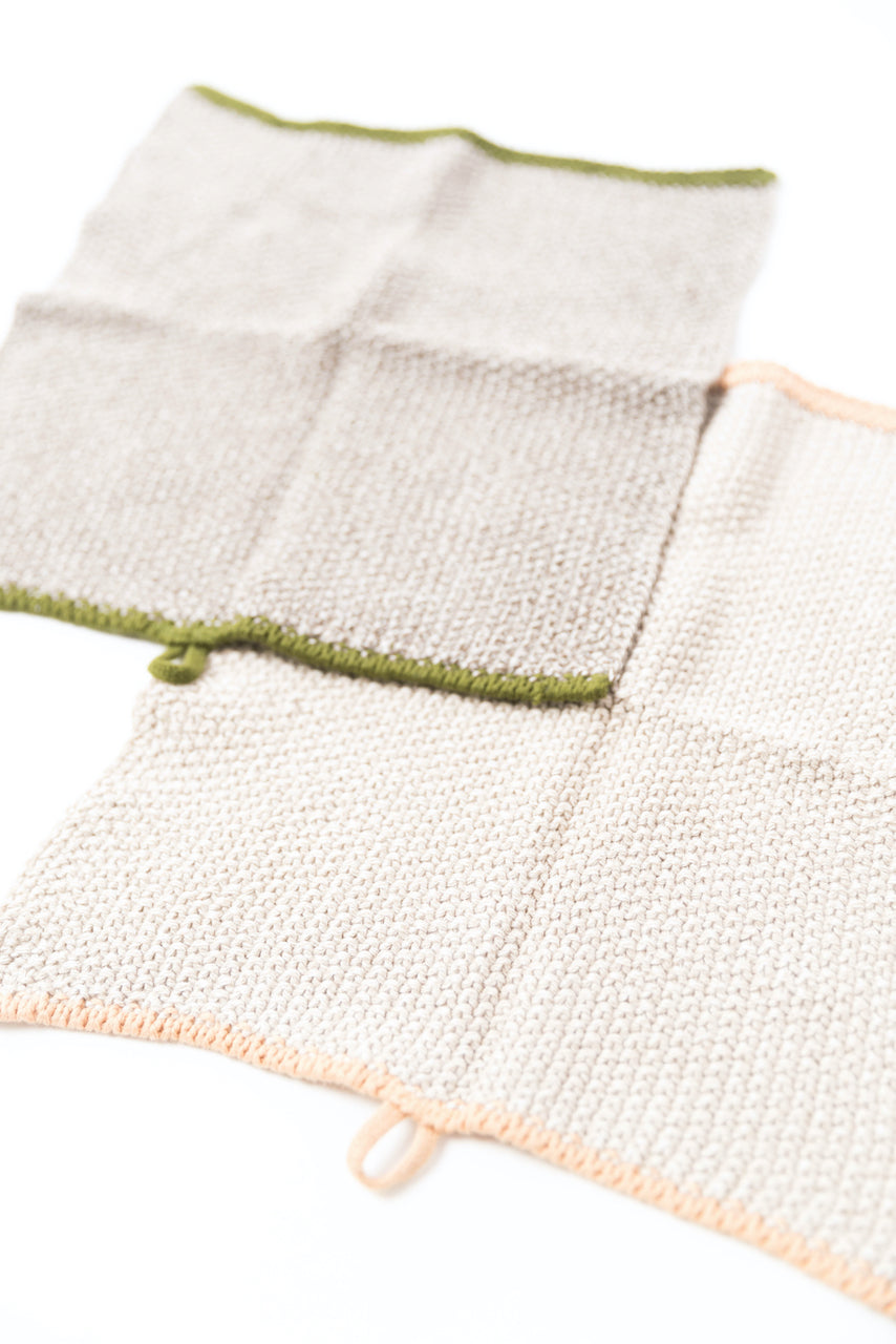 Knit dish cloths | ROOLEE