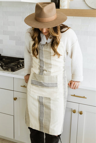 Striped Aprons for the Kitchen | ROOLEE