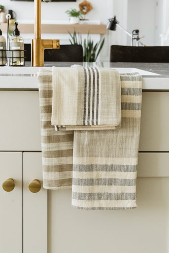 Newport Woven Striped Tea Towels