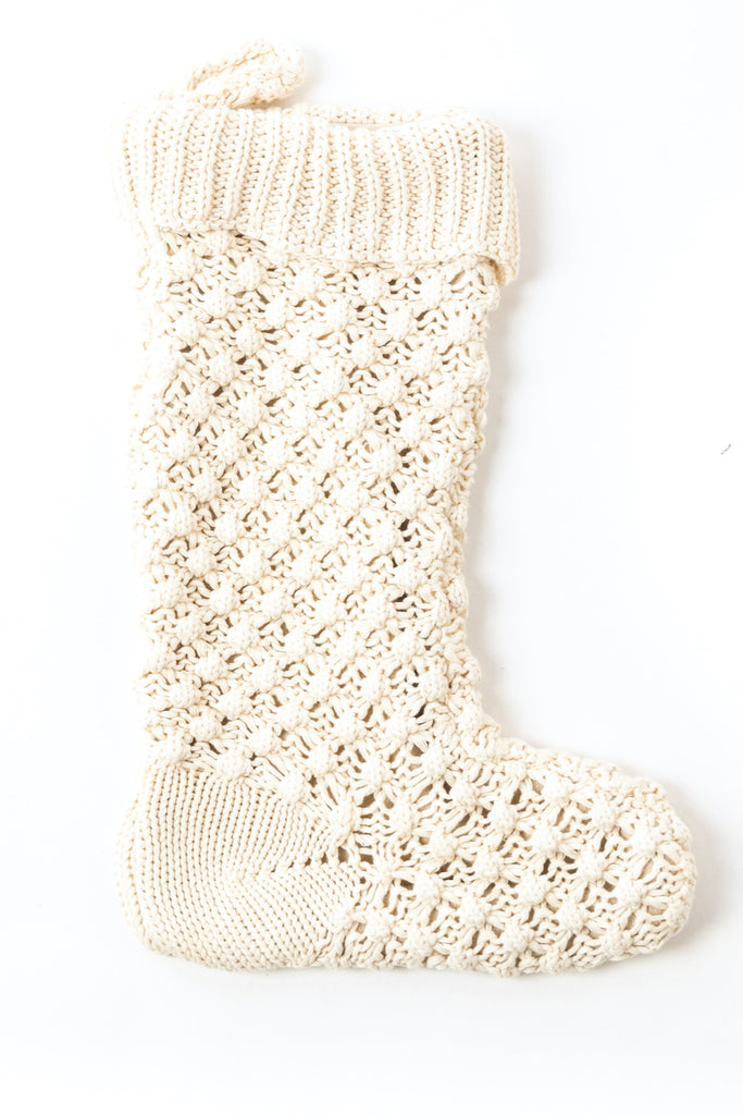 White christmas stocking | ROOLEE