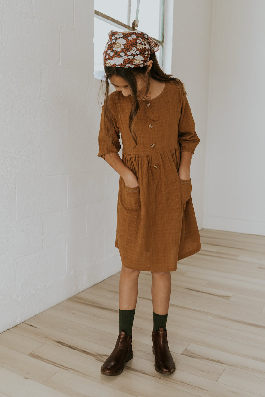 Kids Midi Dress | ROOLEE