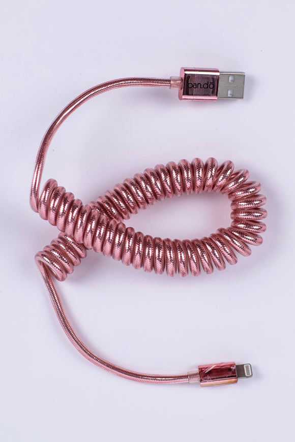 Coiled Phone Charger | ROOLEE