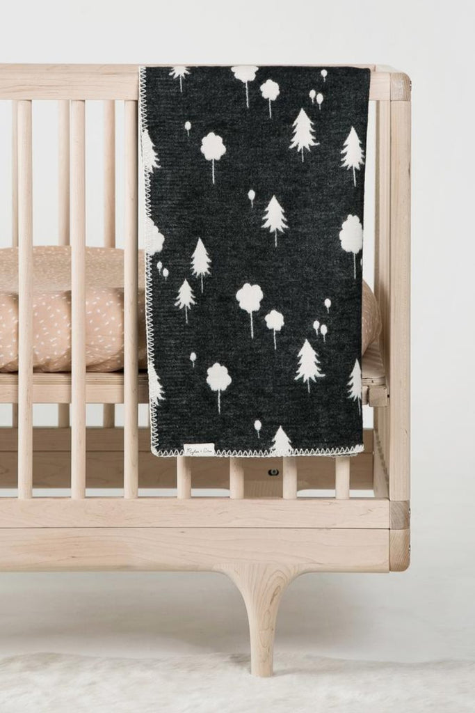 Organic Cotton Blanket in Forest | ROOLEE Kids