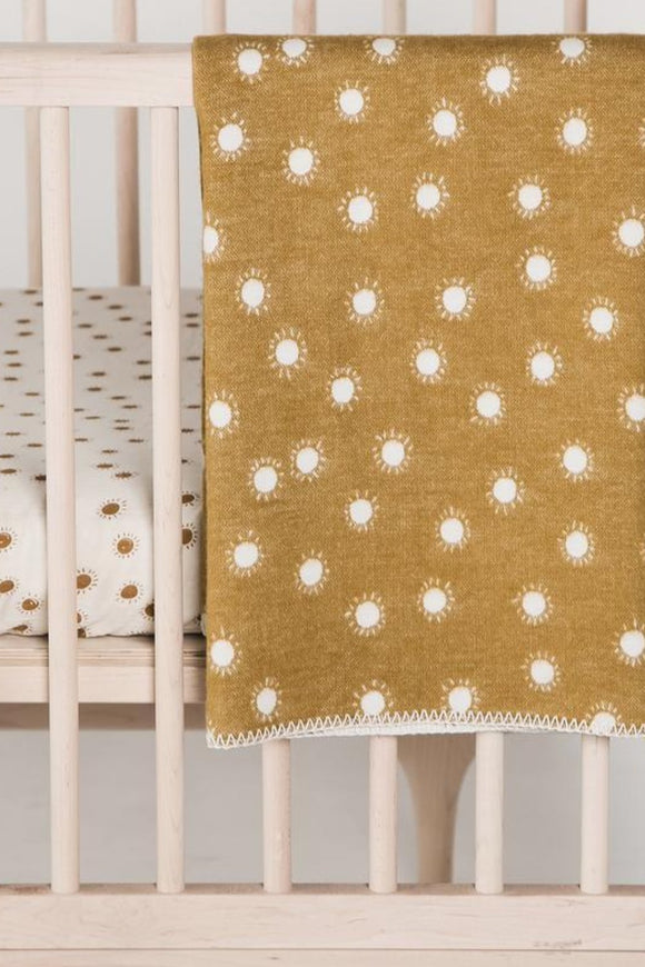 Organic Cotton Blanket in Sunrise | ROOLEE Kids