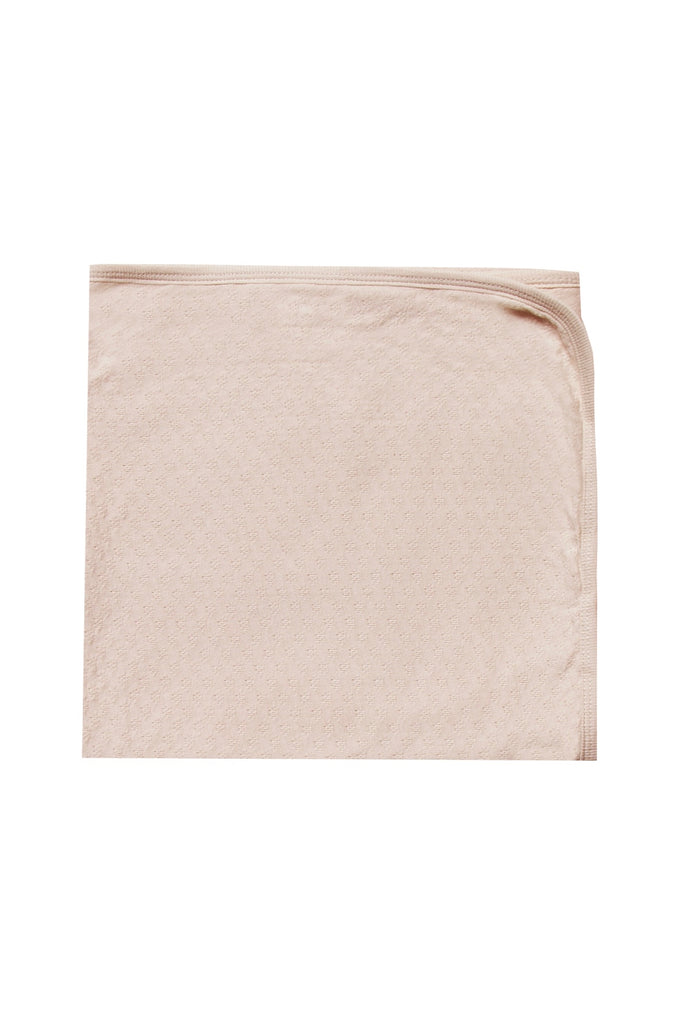Light Pink Baby Blanket | ROOLEE