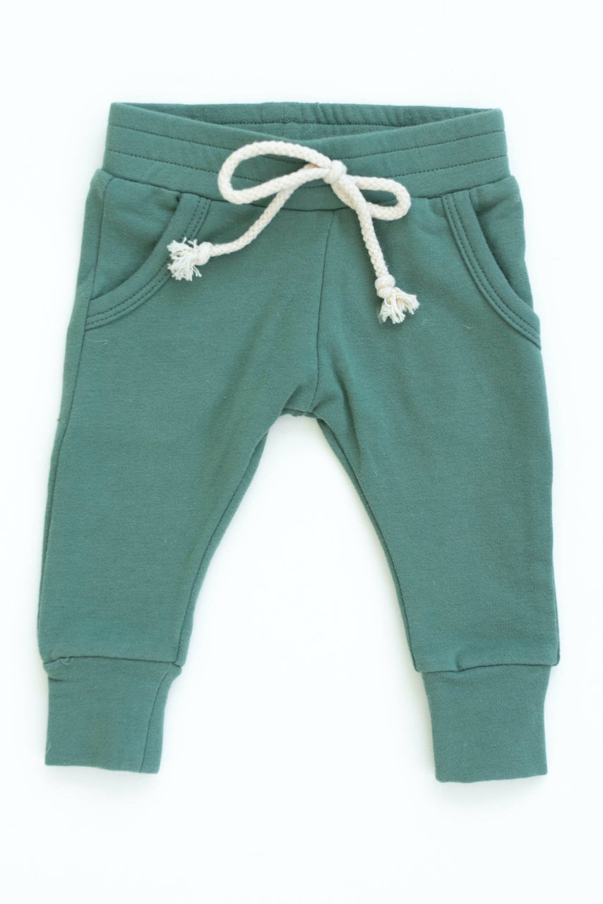 Teal blue joggers for boys | ROOLEE