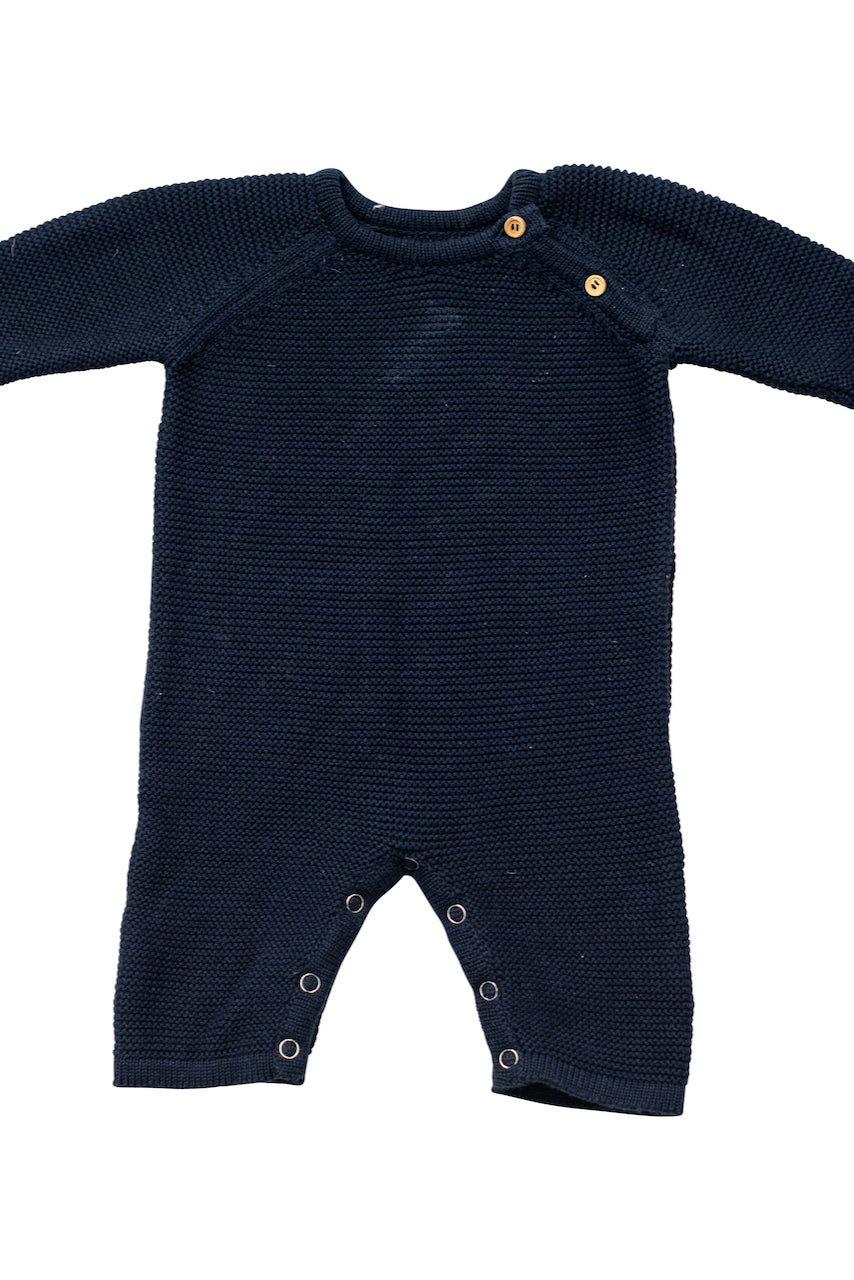 Navy knit oneise | ROOLEE