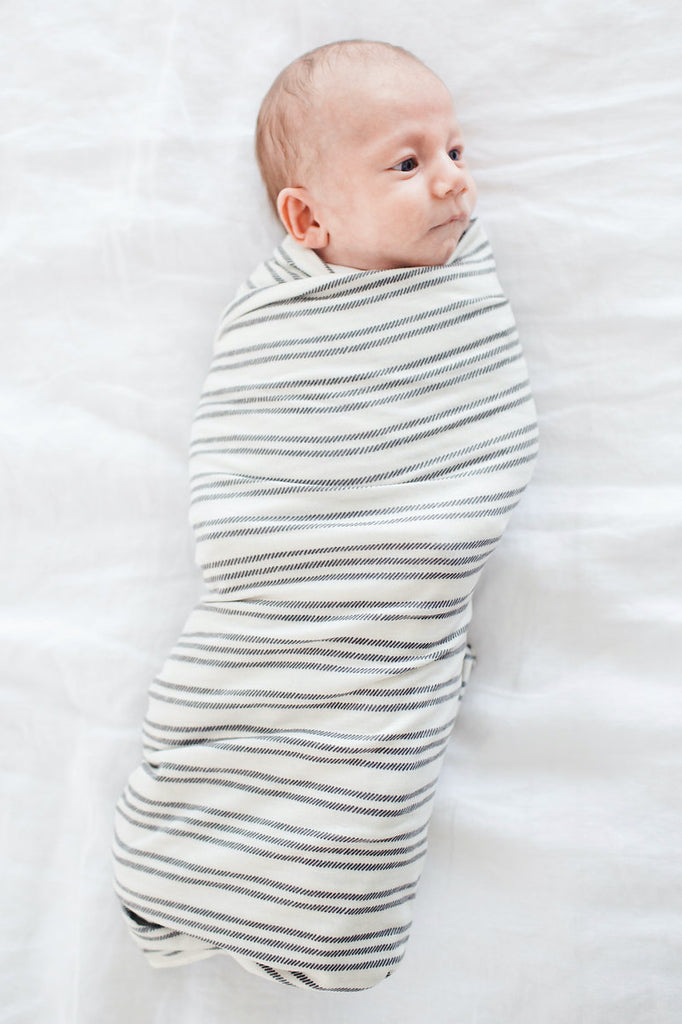 Midtown Knit Swaddle Blanket