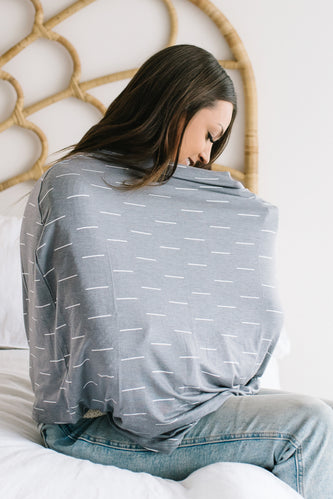 Printed multi use cover for nursing moms | ROOLEE