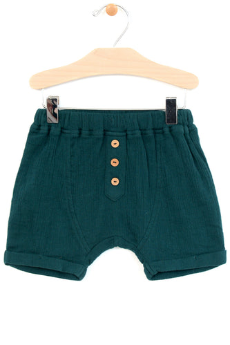 Finian Button Shorts
