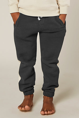 Charcoal grey jogger sweat pants | ROOLEE