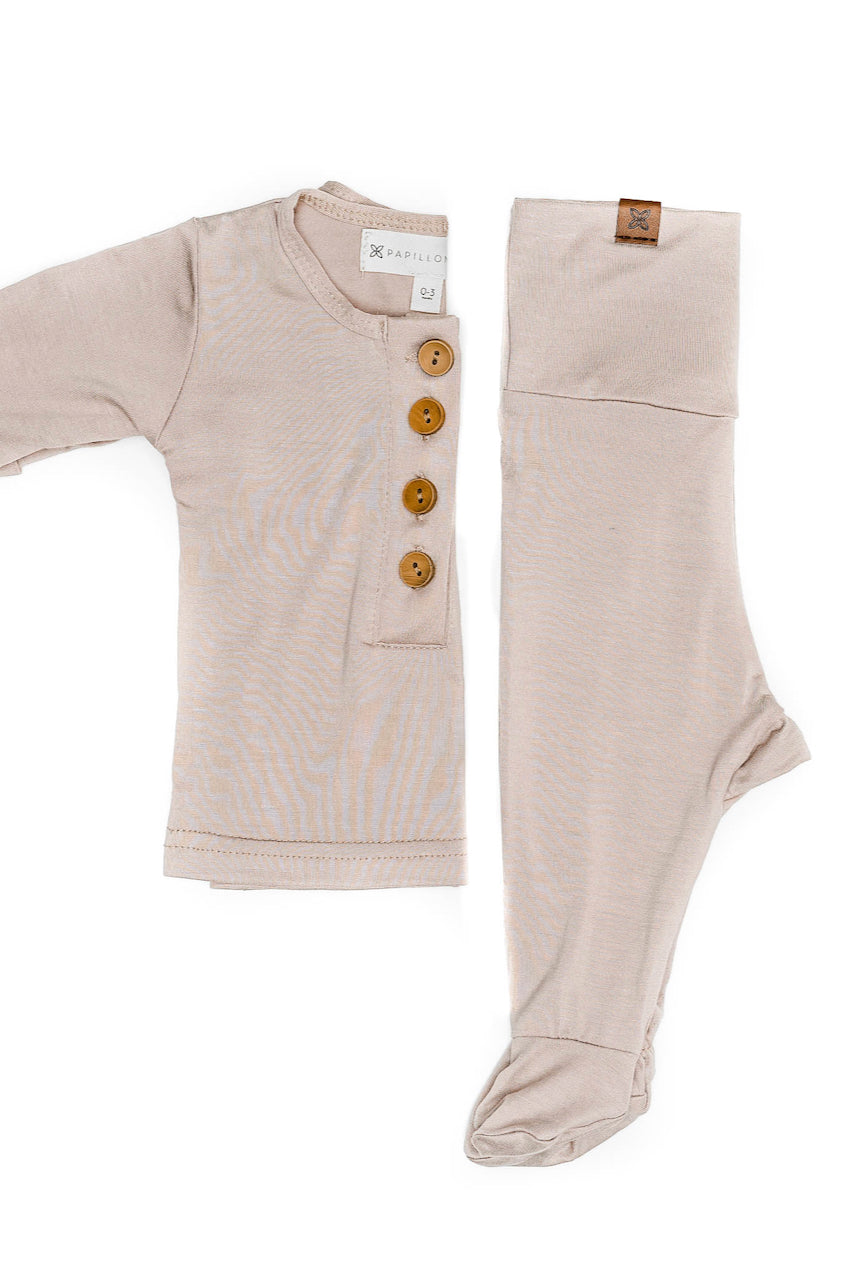 Trendy Dusty Pink Baby Clothing Sets | ROOLEE