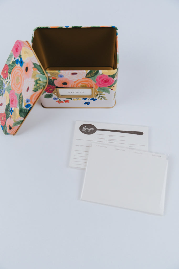 Rifle Paper Co. Recipe Box | ROOLEE