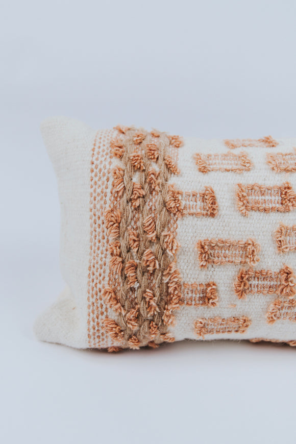 Statement Embroidered Pillow | ROOLEE