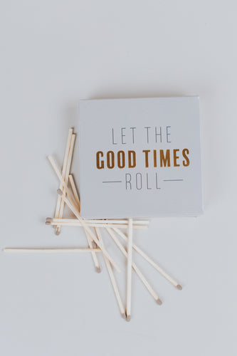 Matchbox with Cute Message | ROOLEE