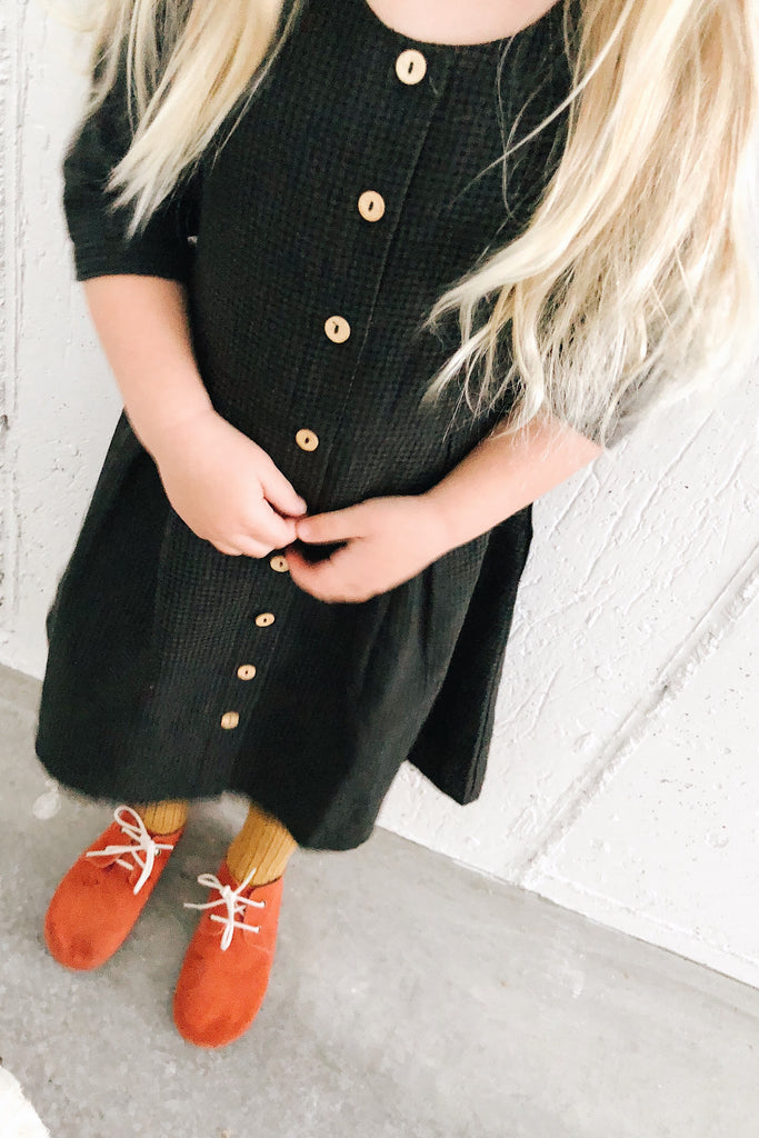 Cute Plaid Holiday Dress for Little Girls | ROOLEE